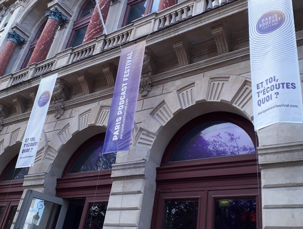 Entrée du Paris Podcast Festival (2019)
